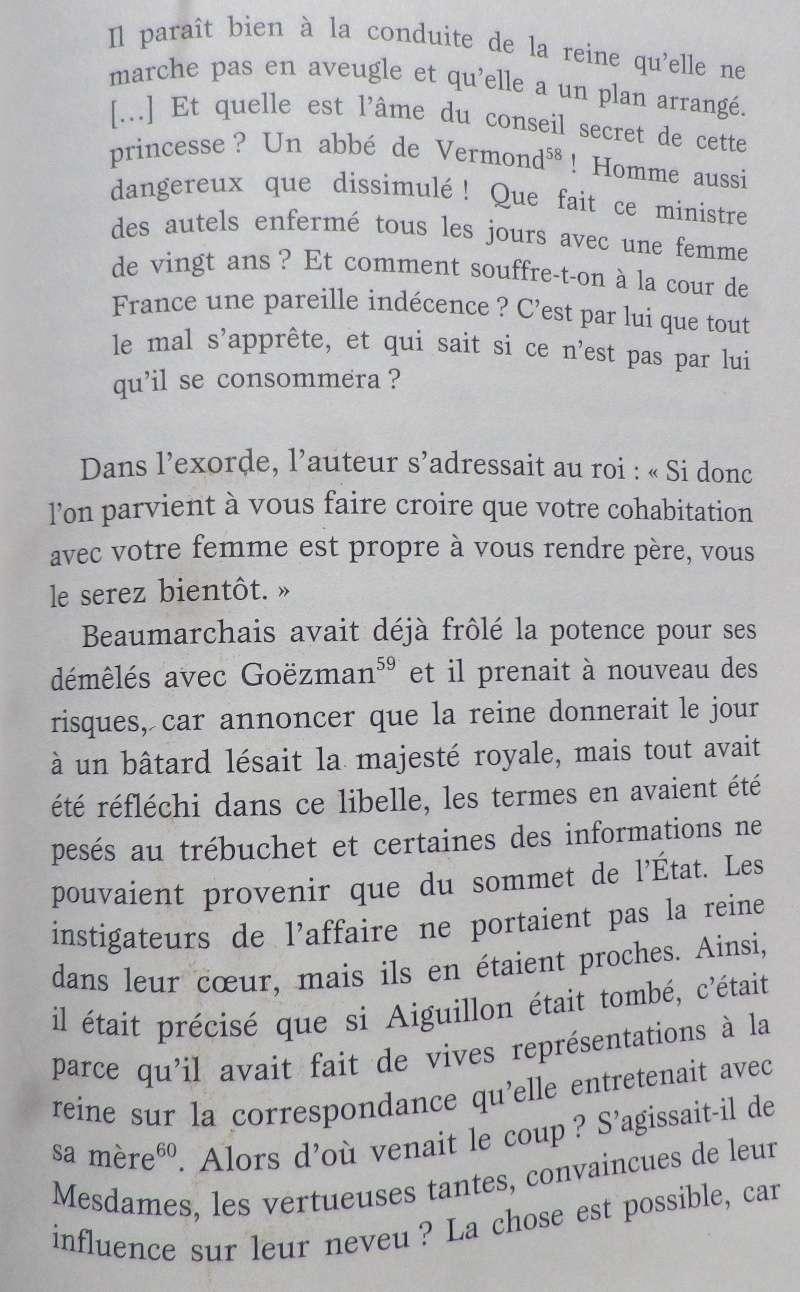 L'affaire du pamphlet, Beaumarchais et Louis XVI Meille11