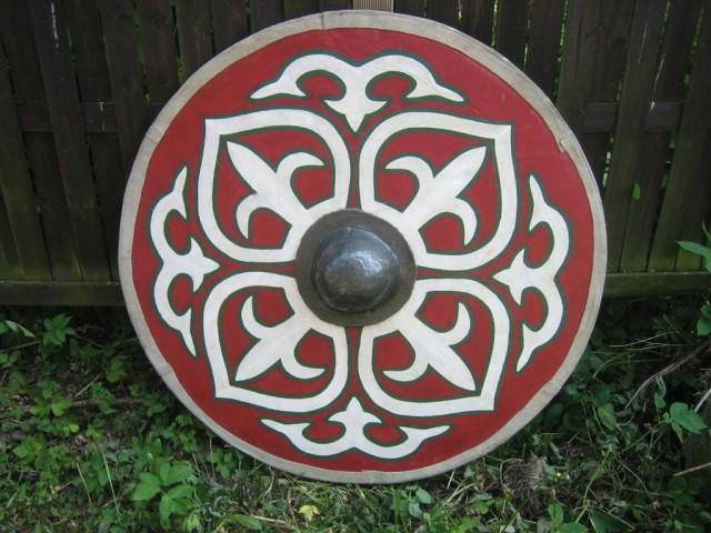 realiser un bouclier viking de GN Boucli22
