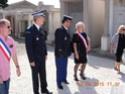 (N°56)Photos de la cérémonie commémorative de la capitulation le 8 mai 1945 de l'Allemagne Nazi . A Saleilles le 8 mai 2015.(Photos de Raphaël ALVAREZ) Le_8_m18