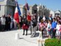 (N°56)Photos de la cérémonie commémorative de la capitulation le 8 mai 1945 de l'Allemagne Nazi . A Saleilles le 8 mai 2015.(Photos de Raphaël ALVAREZ) Le_8_m24