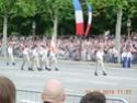(N°57)Photos de la cérémonie commémorative de la fête nationale et du défilé du 14 juillet 2014 sur l'Avenue des Champs Elysée à Paris. ( Photos de Raphaël ALVAREZ ) Paris109