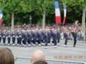 (N°57)Photos de la cérémonie commémorative de la fête nationale et du défilé du 14 juillet 2014 sur l'Avenue des Champs Elysée à Paris. ( Photos de Raphaël ALVAREZ ) Paris129