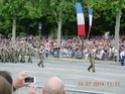 (N°57)Photos de la cérémonie commémorative de la fête nationale et du défilé du 14 juillet 2014 sur l'Avenue des Champs Elysée à Paris. ( Photos de Raphaël ALVAREZ ) Paris144