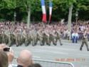 (N°57)Photos de la cérémonie commémorative de la fête nationale et du défilé du 14 juillet 2014 sur l'Avenue des Champs Elysée à Paris. ( Photos de Raphaël ALVAREZ ) Paris145