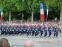 (N°57)Photos de la cérémonie commémorative de la fête nationale et du défilé du 14 juillet 2014 sur l'Avenue des Champs Elysée à Paris. ( Photos de Raphaël ALVAREZ ) Paris159
