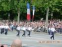 (N°57)Photos de la cérémonie commémorative de la fête nationale et du défilé du 14 juillet 2014 sur l'Avenue des Champs Elysée à Paris. ( Photos de Raphaël ALVAREZ ) Paris161