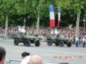 (N°57)Photos de la cérémonie commémorative de la fête nationale et du défilé du 14 juillet 2014 sur l'Avenue des Champs Elysée à Paris. ( Photos de Raphaël ALVAREZ ) Paris208