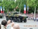 (N°57)Photos de la cérémonie commémorative de la fête nationale et du défilé du 14 juillet 2014 sur l'Avenue des Champs Elysée à Paris. ( Photos de Raphaël ALVAREZ ) Paris214