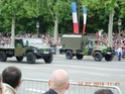 (N°57)Photos de la cérémonie commémorative de la fête nationale et du défilé du 14 juillet 2014 sur l'Avenue des Champs Elysée à Paris. ( Photos de Raphaël ALVAREZ ) Paris262