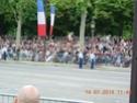 (N°57)Photos de la cérémonie commémorative de la fête nationale et du défilé du 14 juillet 2014 sur l'Avenue des Champs Elysée à Paris. ( Photos de Raphaël ALVAREZ ) Paris273