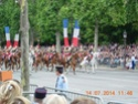 (N°57)Photos de la cérémonie commémorative de la fête nationale et du défilé du 14 juillet 2014 sur l'Avenue des Champs Elysée à Paris. ( Photos de Raphaël ALVAREZ ) Paris275