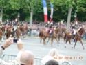(N°57)Photos de la cérémonie commémorative de la fête nationale et du défilé du 14 juillet 2014 sur l'Avenue des Champs Elysée à Paris. ( Photos de Raphaël ALVAREZ ) Paris302