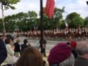 (N°57)Photos de la cérémonie commémorative de la fête nationale et du défilé du 14 juillet 2014 sur l'Avenue des Champs Elysée à Paris. ( Photos de Raphaël ALVAREZ ) Paris363