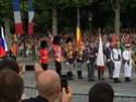 (N°57)Photos de la cérémonie commémorative de la fête nationale et du défilé du 14 juillet 2014 sur l'Avenue des Champs Elysée à Paris. ( Photos de Raphaël ALVAREZ ) Paris375