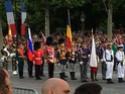 (N°57)Photos de la cérémonie commémorative de la fête nationale et du défilé du 14 juillet 2014 sur l'Avenue des Champs Elysée à Paris. ( Photos de Raphaël ALVAREZ ) Paris377
