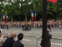 (N°57)Photos de la cérémonie commémorative de la fête nationale et du défilé du 14 juillet 2014 sur l'Avenue des Champs Elysée à Paris. ( Photos de Raphaël ALVAREZ ) Paris400