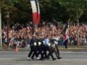 (N°57)Photos de la cérémonie commémorative de la fête nationale et du défilé du 14 juillet 2014 sur l'Avenue des Champs Elysée à Paris. ( Photos de Raphaël ALVAREZ ) Paris424