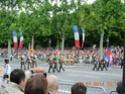 (N°57)Photos de la cérémonie commémorative de la fête nationale et du défilé du 14 juillet 2014 sur l'Avenue des Champs Elysée à Paris. ( Photos de Raphaël ALVAREZ ) Paris_30