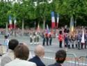 (N°57)Photos de la cérémonie commémorative de la fête nationale et du défilé du 14 juillet 2014 sur l'Avenue des Champs Elysée à Paris. ( Photos de Raphaël ALVAREZ ) Paris_43