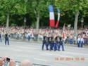 (N°57)Photos de la cérémonie commémorative de la fête nationale et du défilé du 14 juillet 2014 sur l'Avenue des Champs Elysée à Paris. ( Photos de Raphaël ALVAREZ ) Paris_69