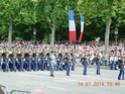 (N°57)Photos de la cérémonie commémorative de la fête nationale et du défilé du 14 juillet 2014 sur l'Avenue des Champs Elysée à Paris. ( Photos de Raphaël ALVAREZ ) Paris_71