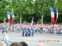 (N°57)Photos de la cérémonie commémorative de la fête nationale et du défilé du 14 juillet 2014 sur l'Avenue des Champs Elysée à Paris. ( Photos de Raphaël ALVAREZ ) Paris_78