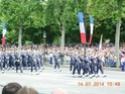 (N°57)Photos de la cérémonie commémorative de la fête nationale et du défilé du 14 juillet 2014 sur l'Avenue des Champs Elysée à Paris. ( Photos de Raphaël ALVAREZ ) Paris_80