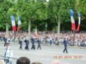 (N°57)Photos de la cérémonie commémorative de la fête nationale et du défilé du 14 juillet 2014 sur l'Avenue des Champs Elysée à Paris. ( Photos de Raphaël ALVAREZ ) Paris_84