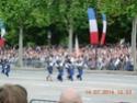 (N°57)Photos de la cérémonie commémorative de la fête nationale et du défilé du 14 juillet 2014 sur l'Avenue des Champs Elysée à Paris. ( Photos de Raphaël ALVAREZ ) Paris_90