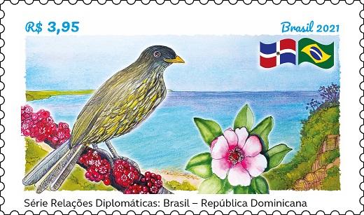 Série Relações Diplomáticas: Brasil - República Dominicana Aaaa210