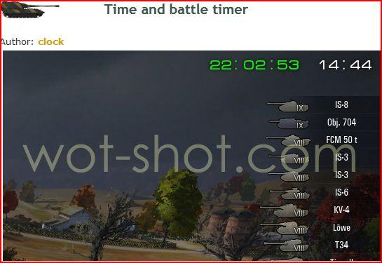 les mods que j'utilise Battle10