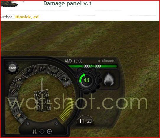 les mods que j'utilise Damage10