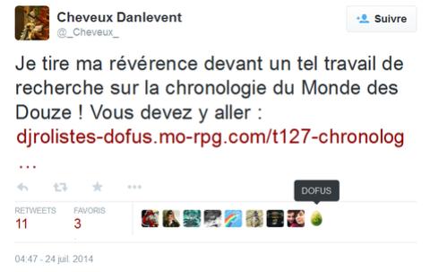 Chronologie Et Anecdotes Dofusiennes Officielles