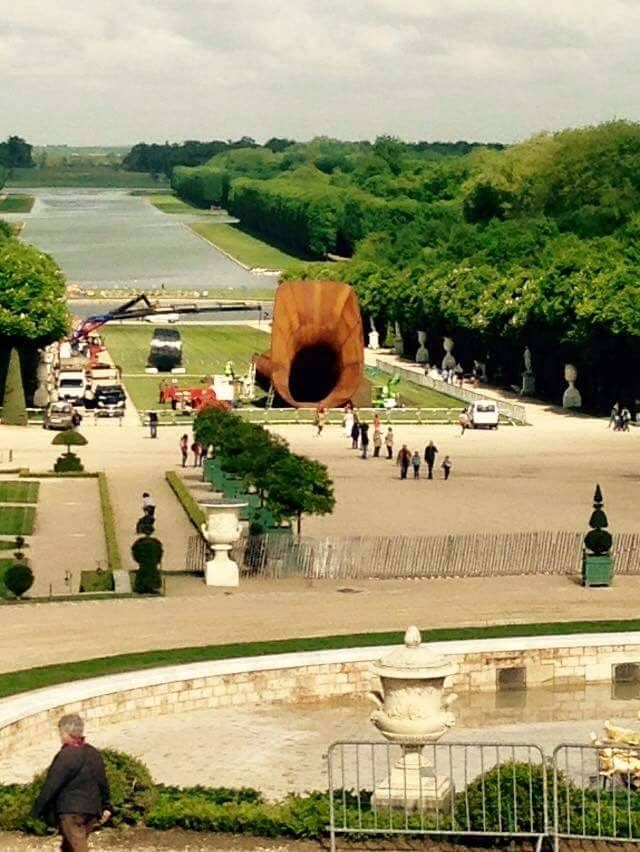 Anish Kapoor expose ses oeuvres à Versailles 11201110