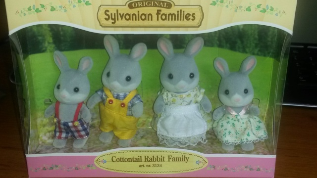 Ma petite collection Sylvanians Fammilies 20150410