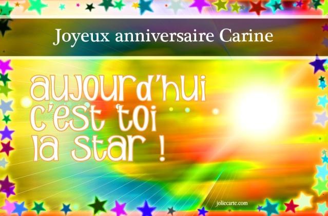 Joyeux anniversaire Carine Carine10