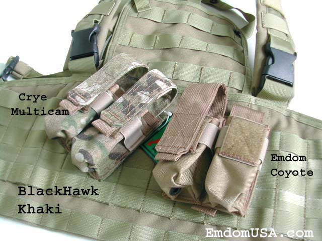 Comparatif teintes MultiCam-compatibles, Quelle couleur choisir : Tan, Khaki, CB, OD ?... Coyote10