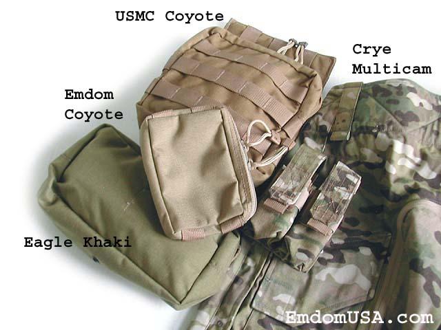 Comparatif teintes MultiCam-compatibles, Quelle couleur choisir : Tan, Khaki, CB, OD ?... Coyote11