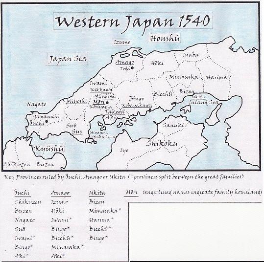 [Sengoku Jidaï] Môri Motonari (1497/1571) et l'ascension du clan Môri  Chugok10