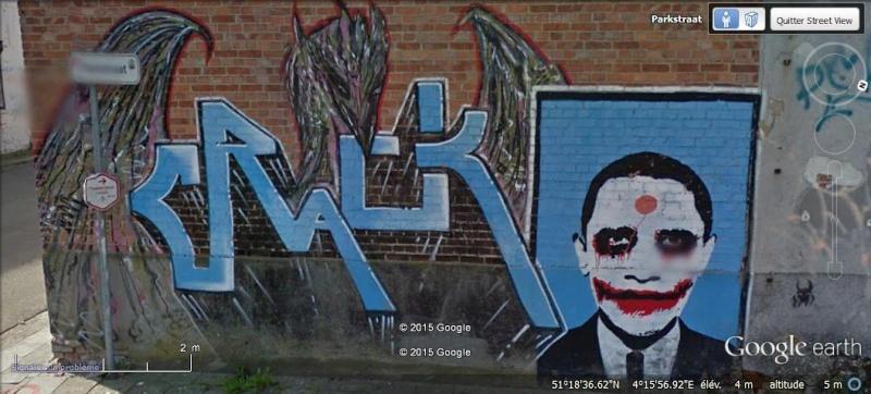 Les étranges graffitis d'un village fantôme. Doel en Belgique Boel1010