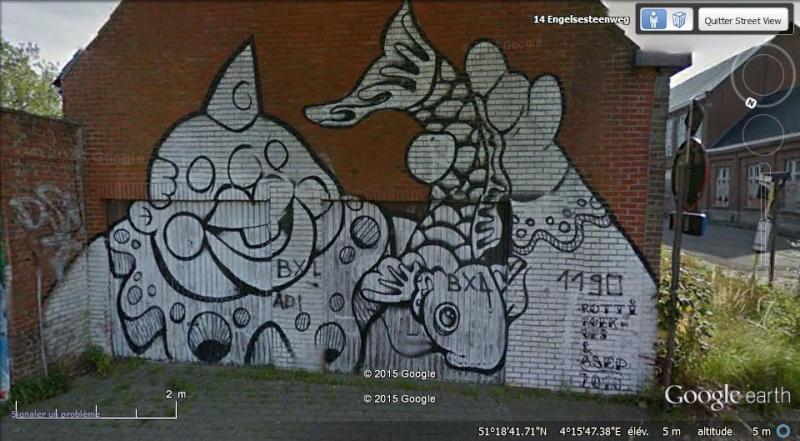 Les étranges graffitis d'un village fantôme. Doel en Belgique Boel710