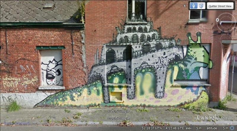 Les étranges graffitis d'un village fantôme. Doel en Belgique Boel810