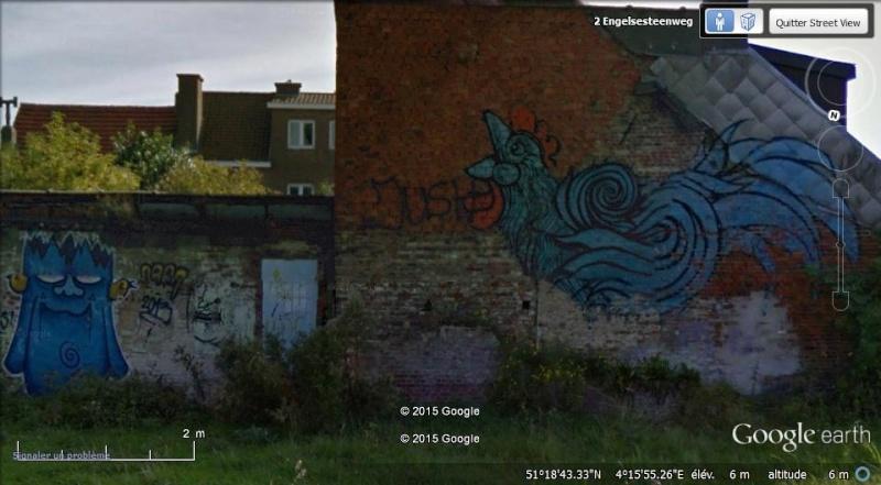 Les étranges graffitis d'un village fantôme. Doel en Belgique Boel_110