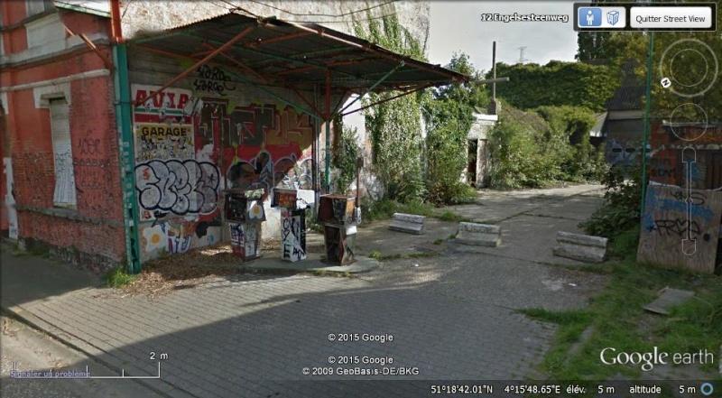 Les étranges graffitis d'un village fantôme. Doel en Belgique Boel_510
