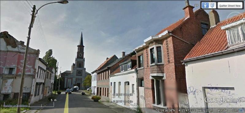 Les étranges graffitis d'un village fantôme. Doel en Belgique D12