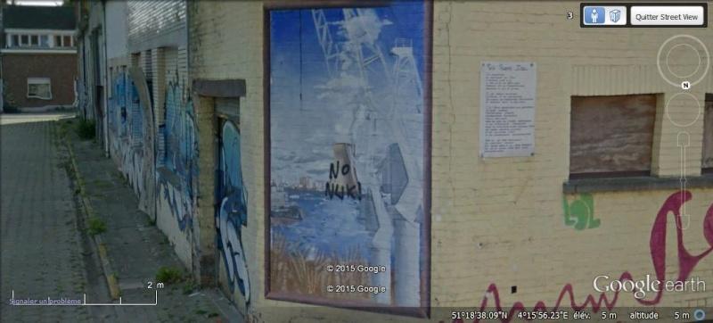 Les étranges graffitis d'un village fantôme. Doel en Belgique Doel1110