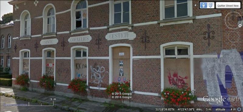 Les étranges graffitis d'un village fantôme. Doel en Belgique Rrr10