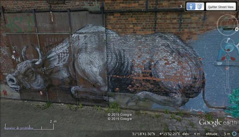 Les étranges graffitis d'un village fantôme. Doel en Belgique Vv24