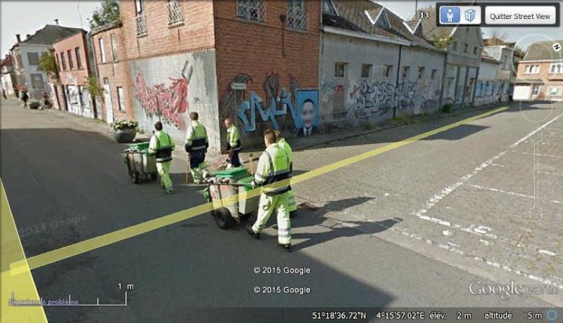 Les étranges graffitis d'un village fantôme. Doel en Belgique Vvvv10