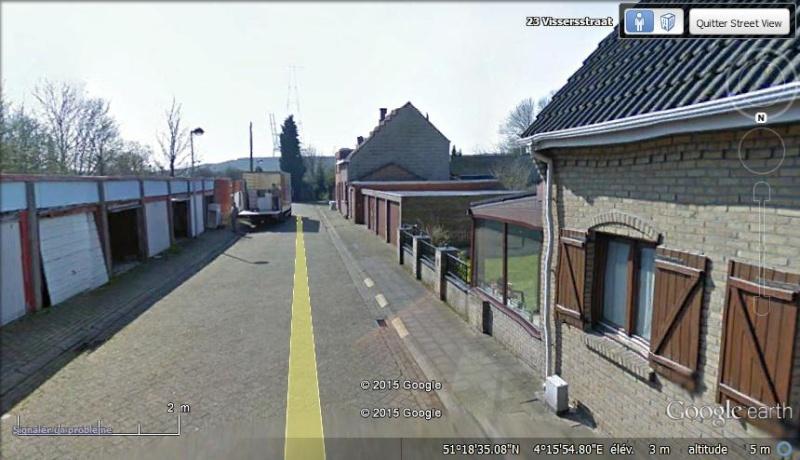 Les étranges graffitis d'un village fantôme. Doel en Belgique Ww10